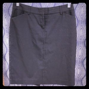 Pinstriped pencil skirt by Express